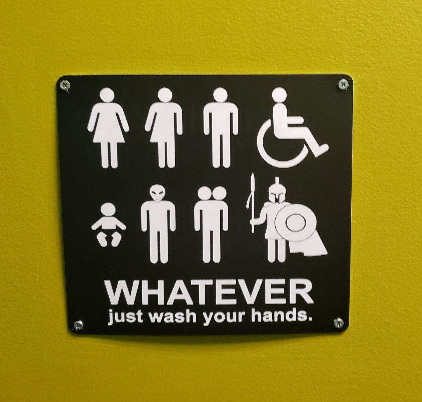 Wash your hands - meme