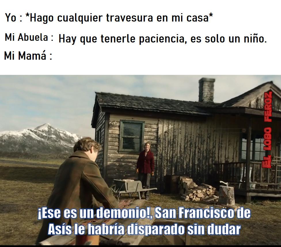 abuelas v.s mamás - meme
