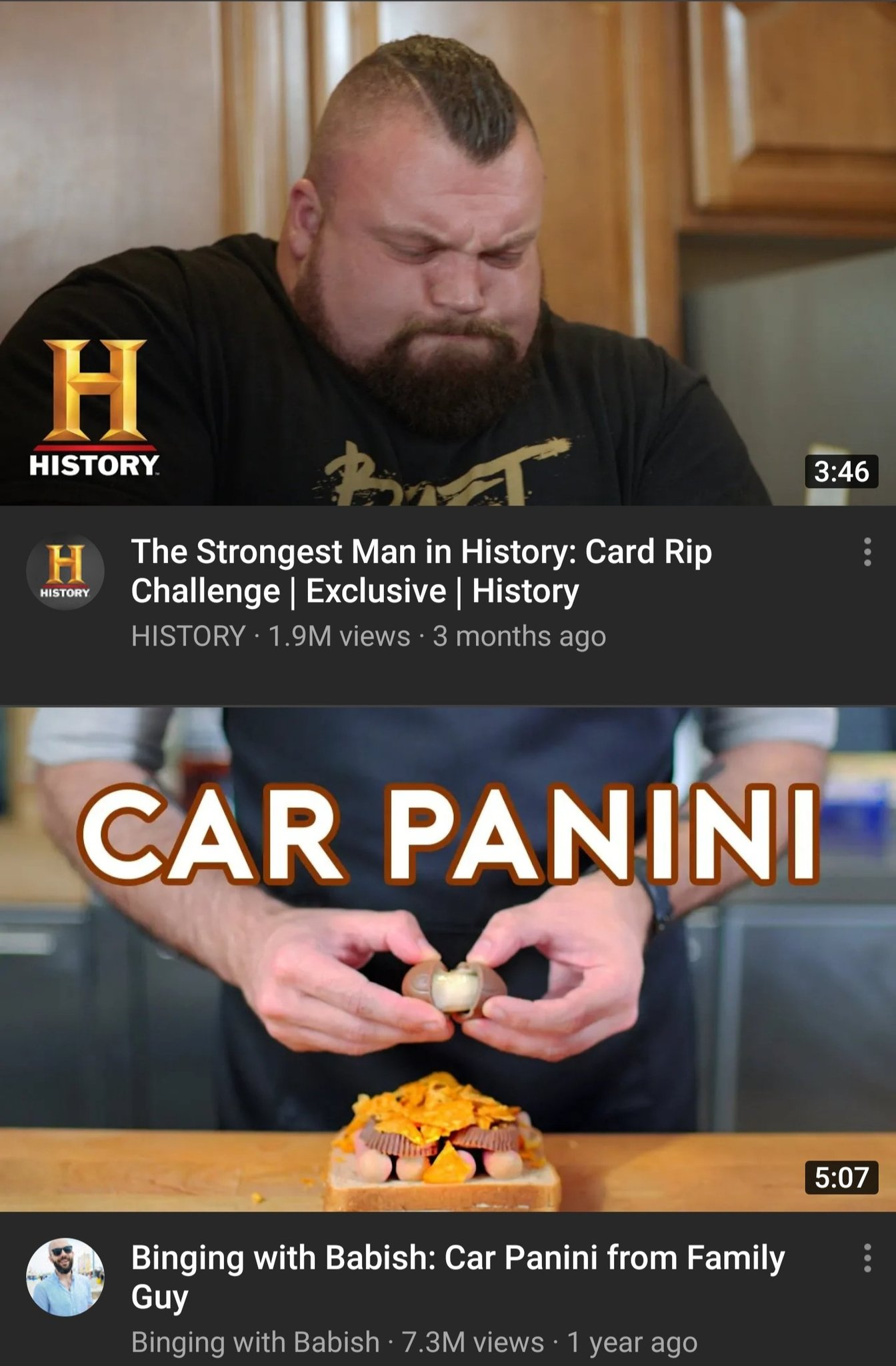 Sometimes YouTube recommends the right thing - meme
