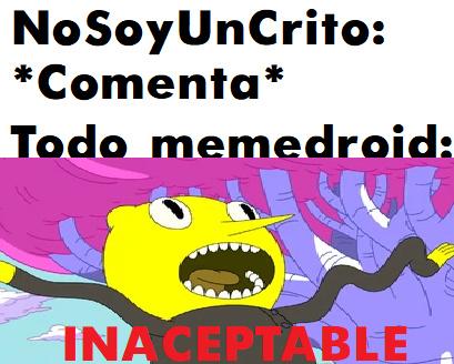 UNNACEPTABLE!!!!!!11111!!!!!! - meme