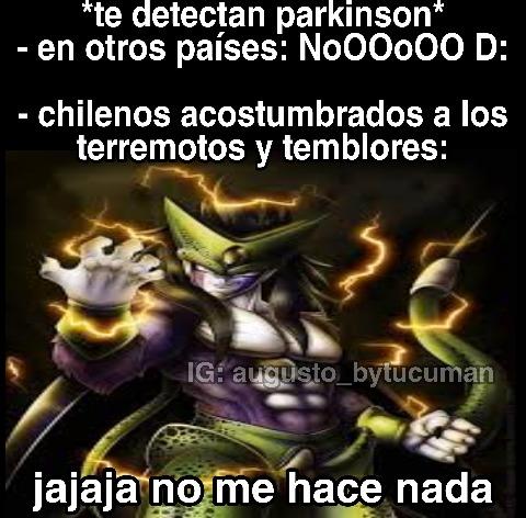 Chile terremoto = funnyn't - meme