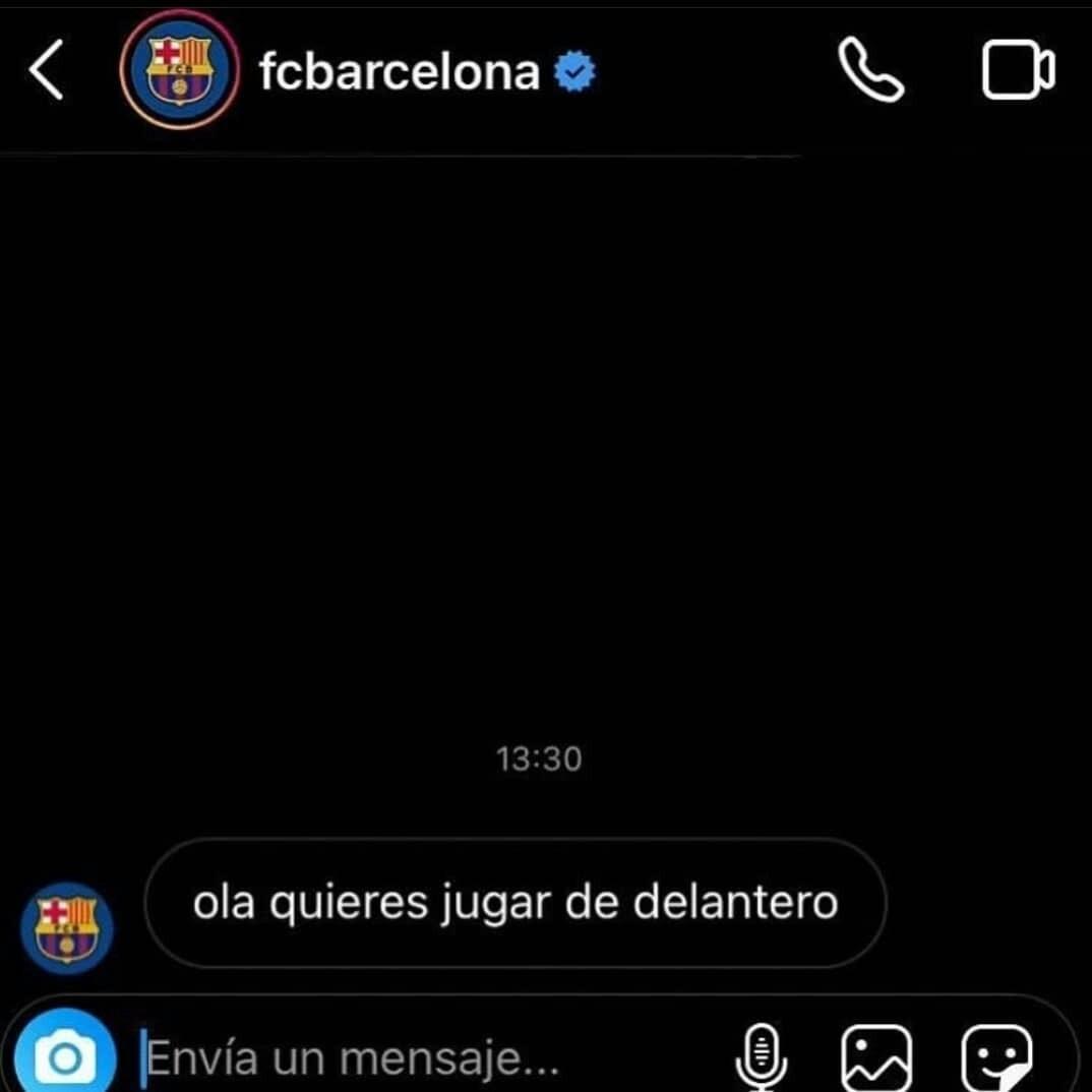 El Barcelona - meme