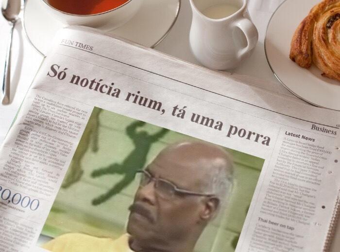 esse jornal tá uma porra - meme
