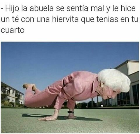 Dura abuela - meme