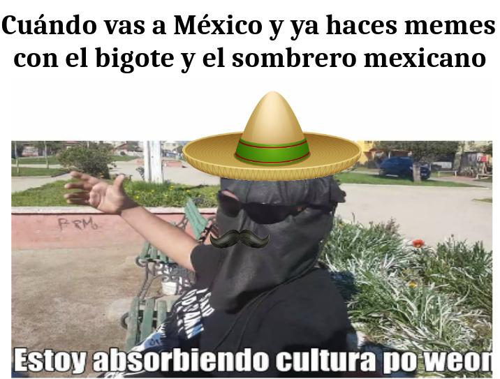 Viaje a México - meme