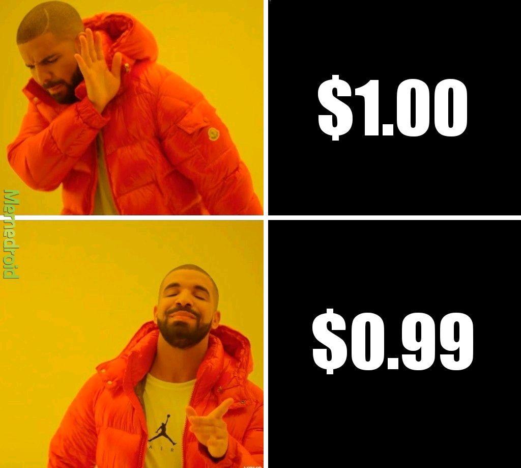 How I feel about money - meme