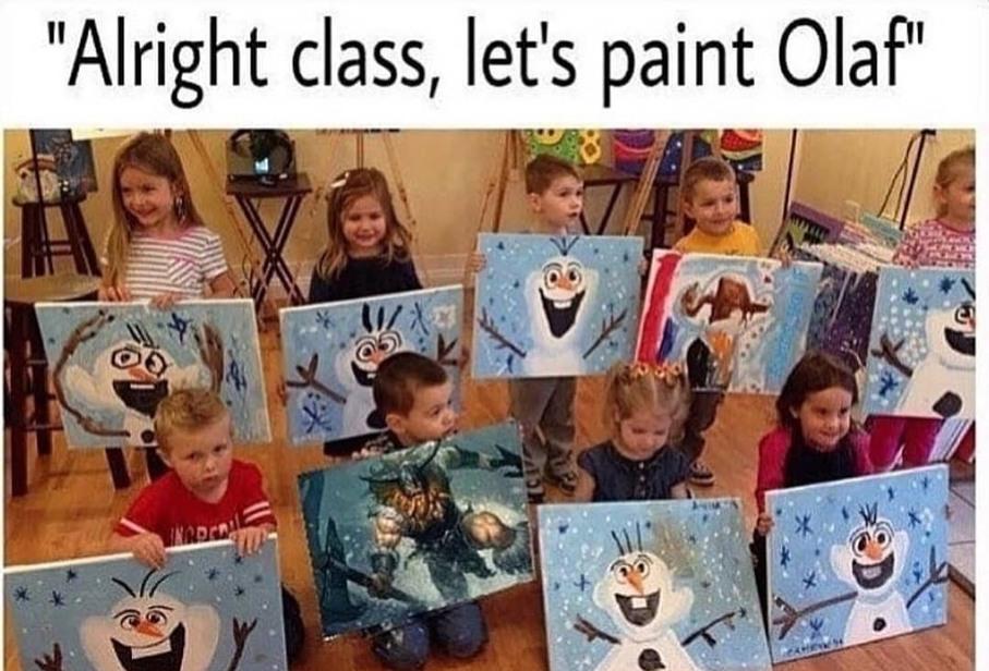 Olaf - meme