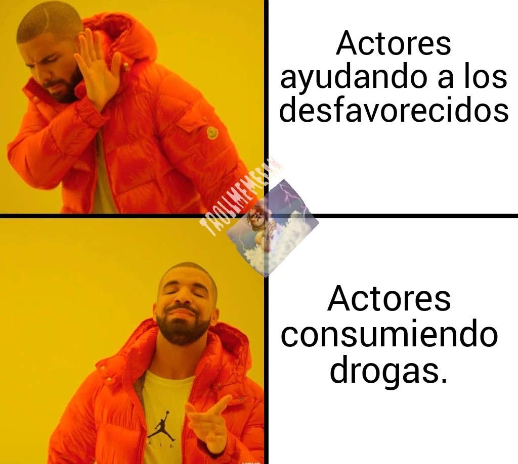 Hay algunos actores... - meme