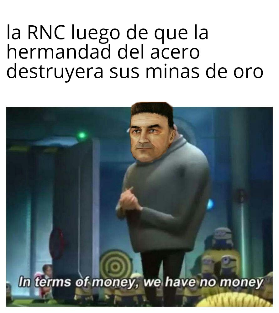 Devaluación de moneda intensifies - meme