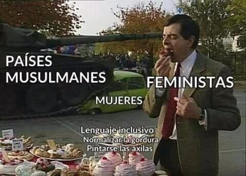Grande el feminismo - meme