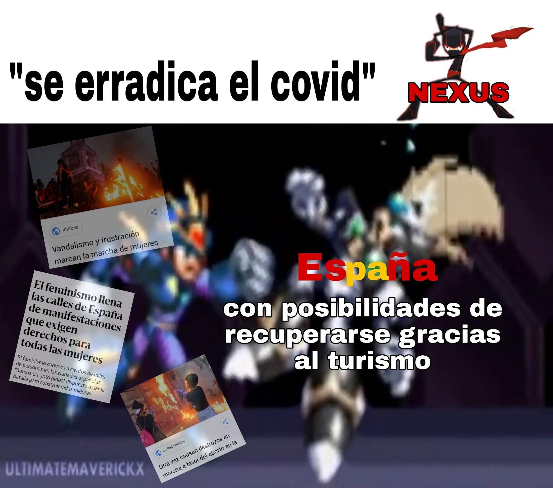 España es un pais turistico - meme