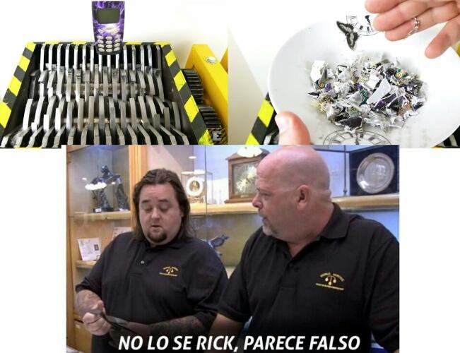 No lo sé Rick, parece falso. - meme