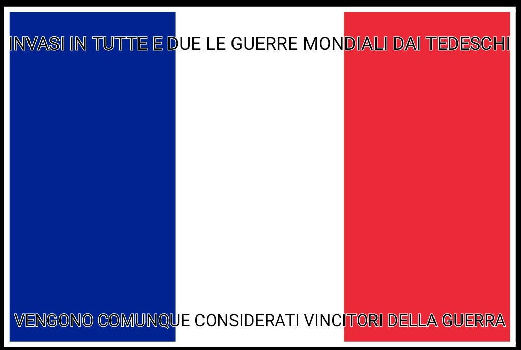 Bah francesi - meme
