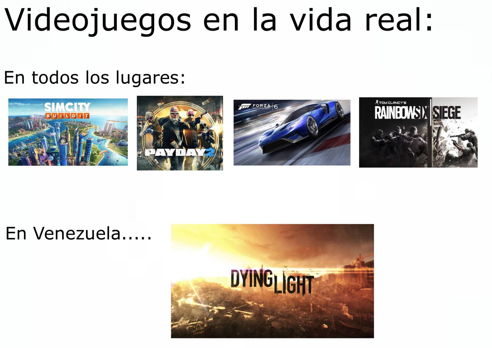 Juegos realehhhhhh - meme