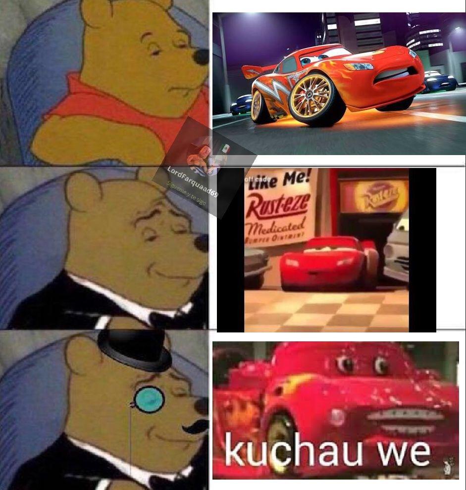 Kuchau we - meme