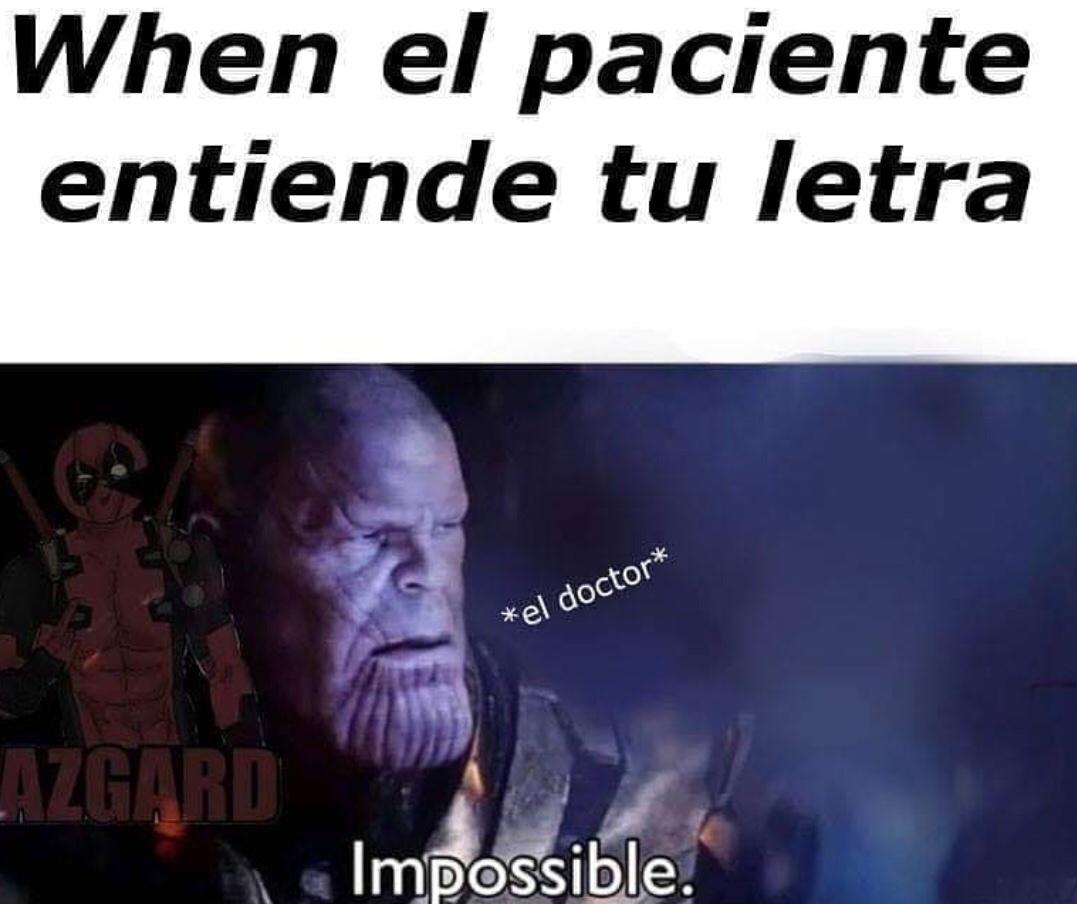 el thanos - meme