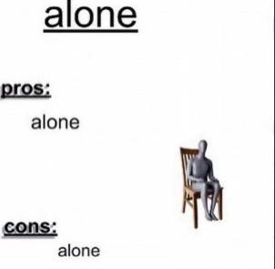 Alone - meme
