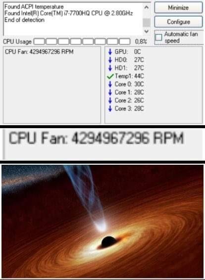 PC de la NASA - meme