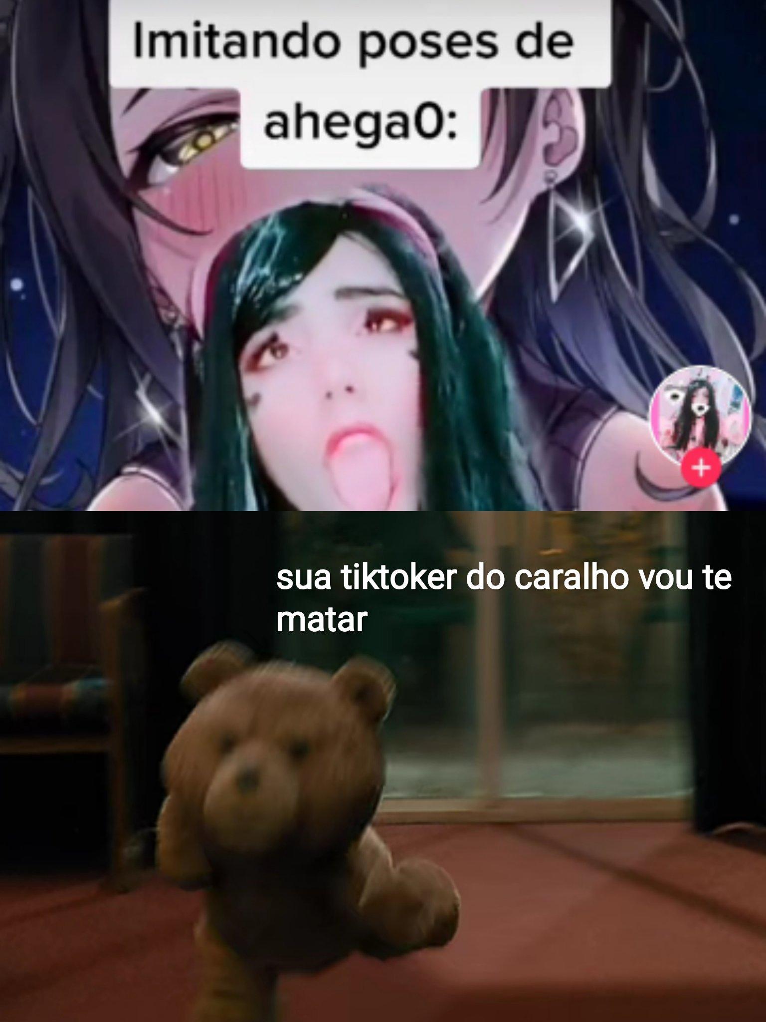 O nome dessa vadia é tihakemi - meme