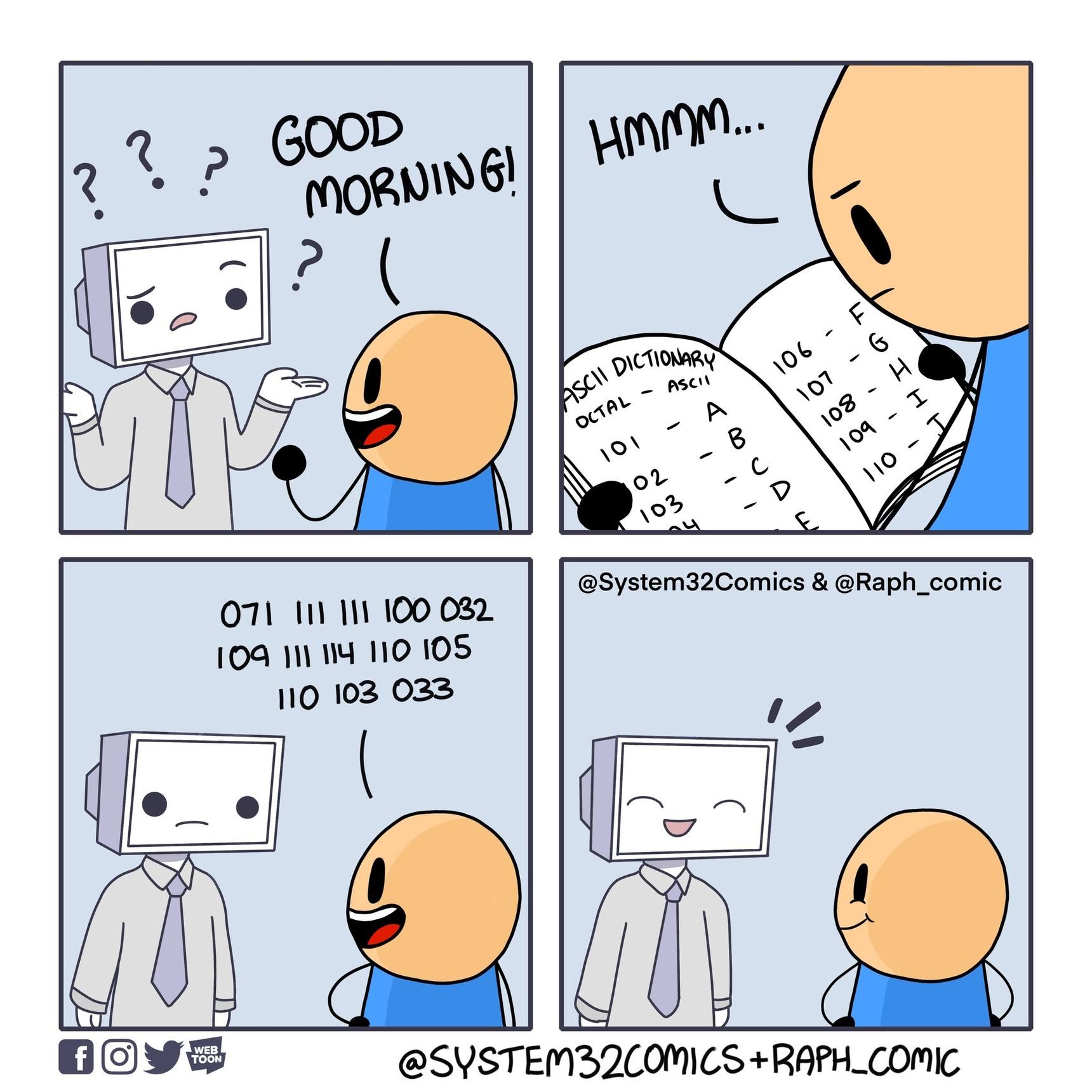 Computer Translation [Collab with Raph_Comic] - meme