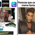 Feito no meme factory!