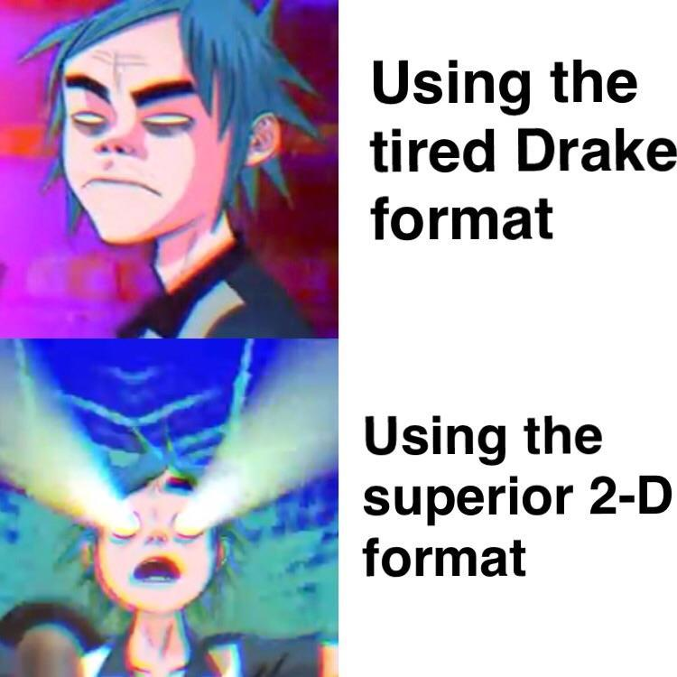 Any gorillaz fans around? :o - meme