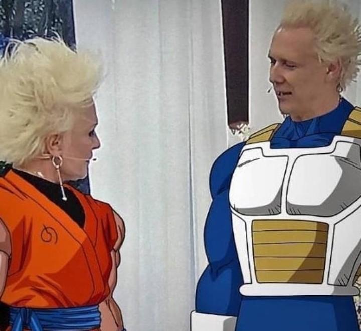 Mais Goku, com Ana Maria Braga - meme