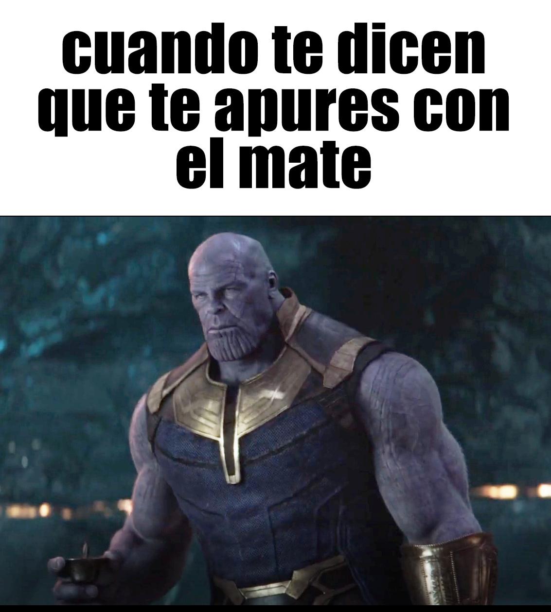 EL MATE DEL INFINITO - meme