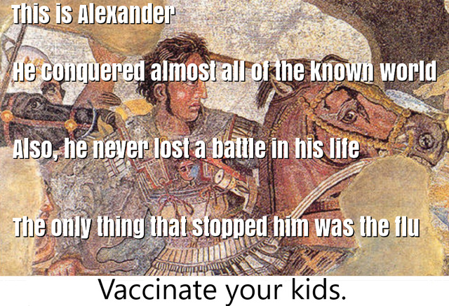 Vaccinate your kids - meme