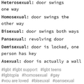 Doors are gay too