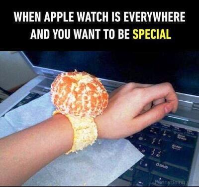 Orange watch - meme