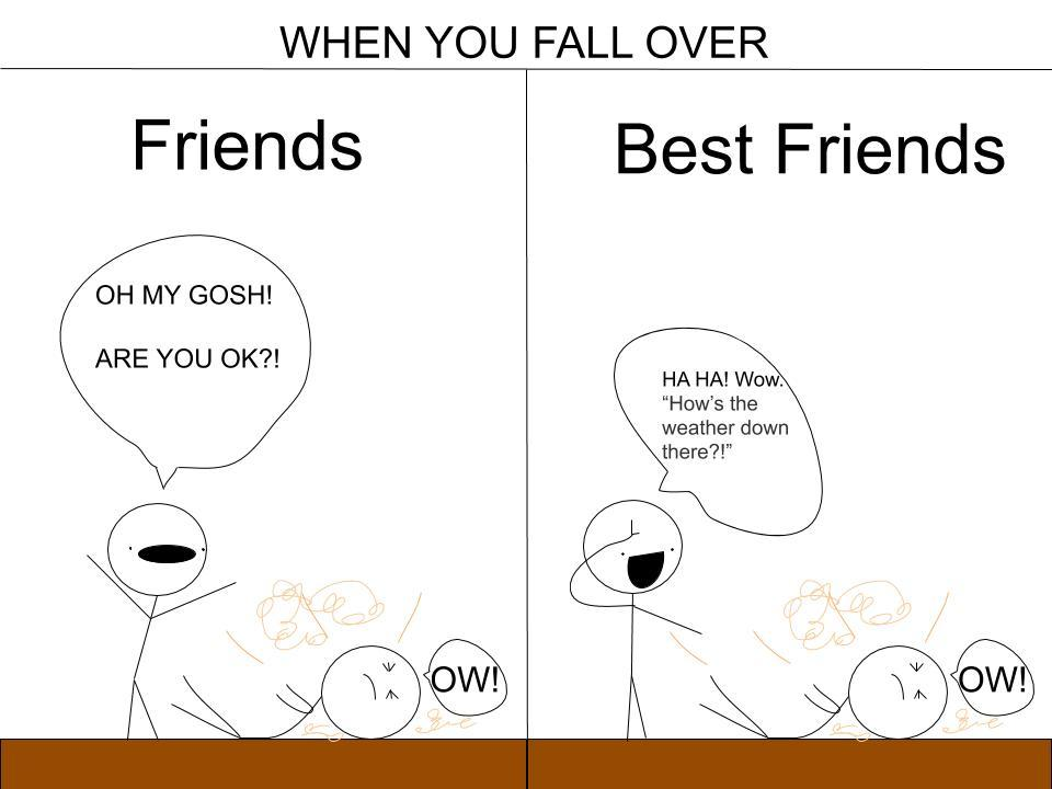 friends vs best friends - meme