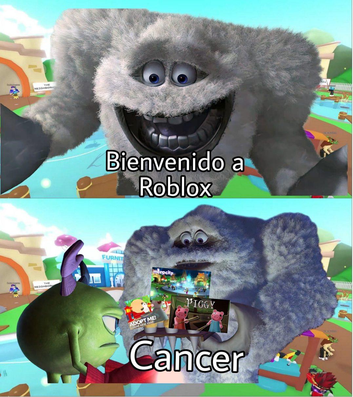 Bienbenido a Roblos , Ancerc - meme