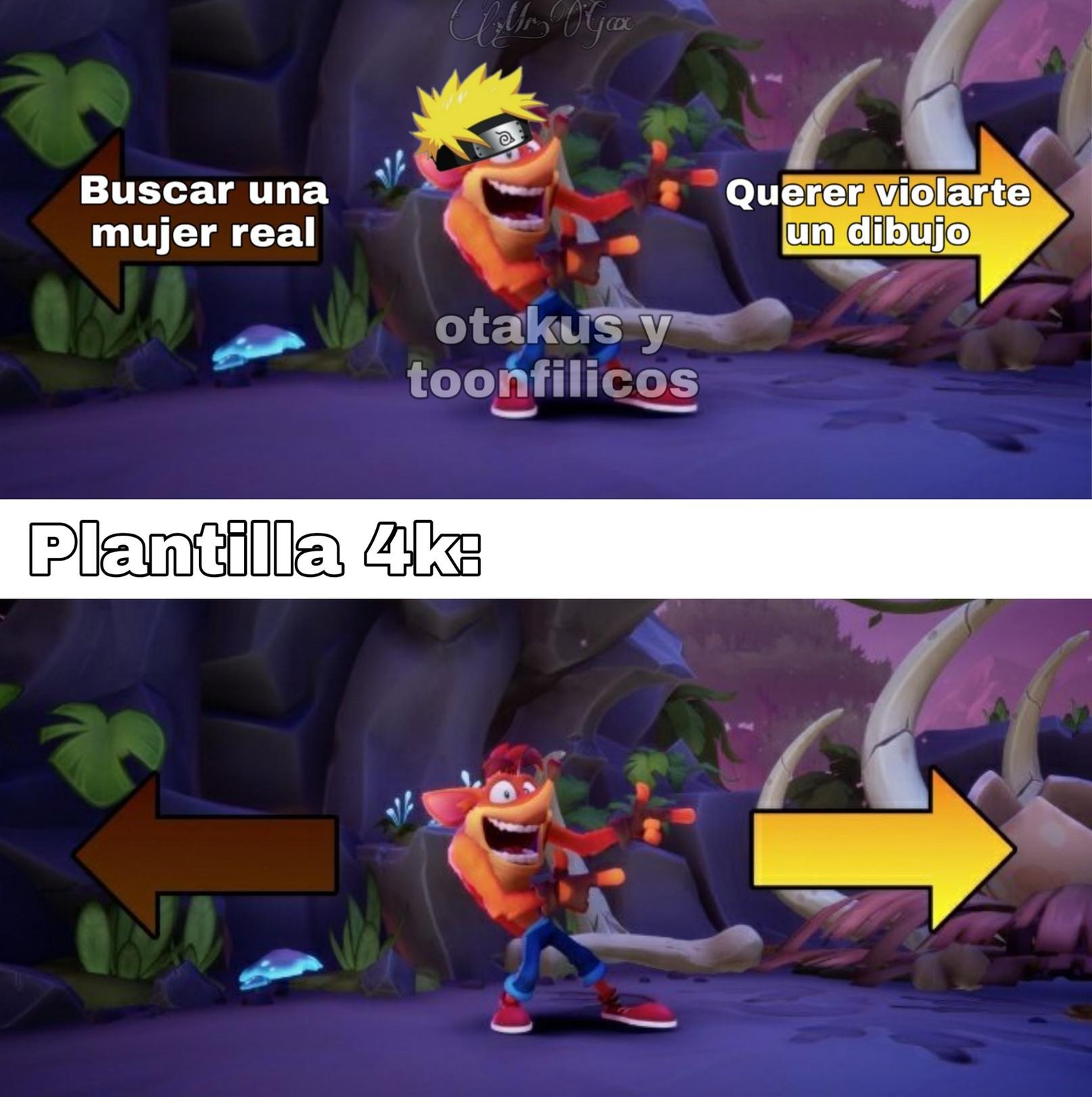 La plantilla está en ps5 - meme