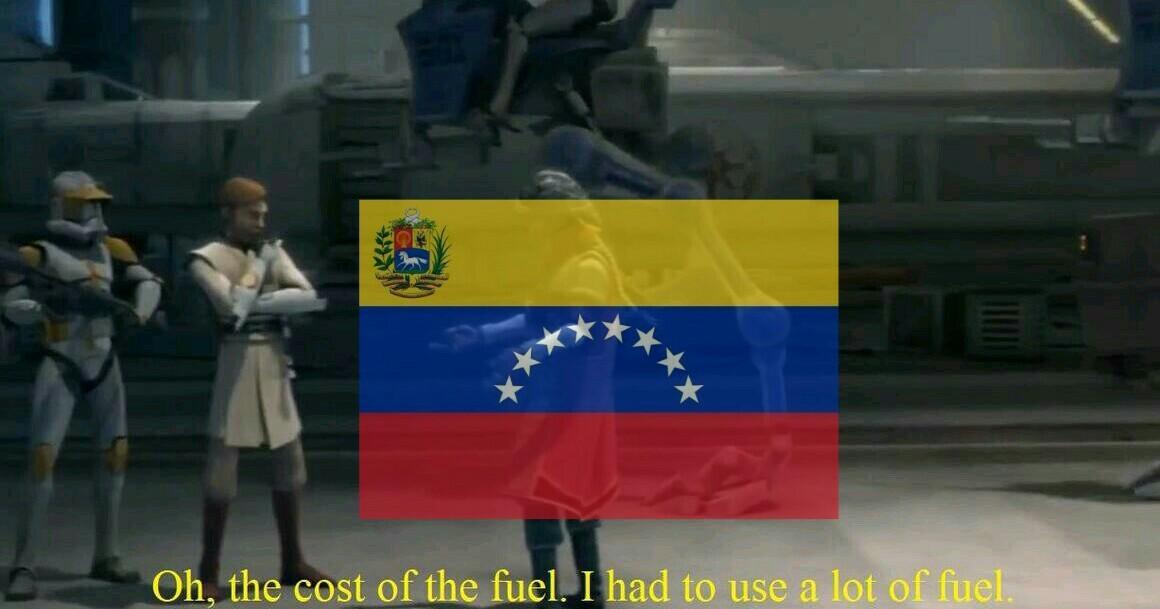 No hay gasolina - meme