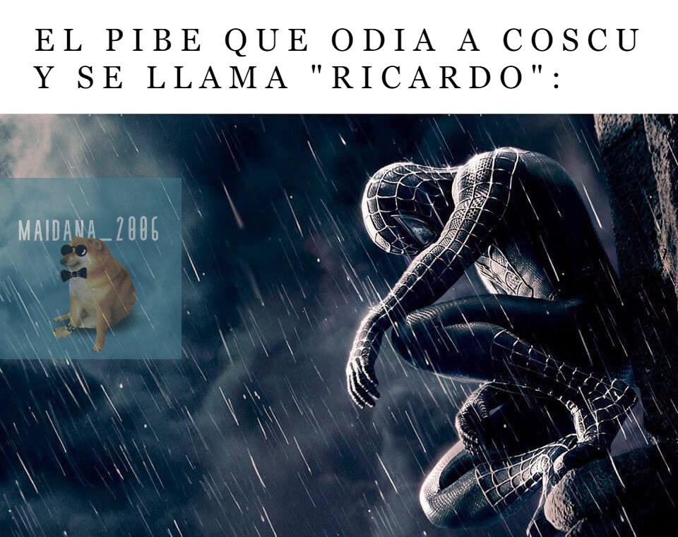 """""""Ricardo"""" XDDD - meme"""