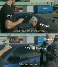 There's no Gulf war memes