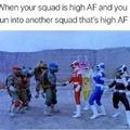 Who ya got winnin in a fight? TNMT or power rangers?