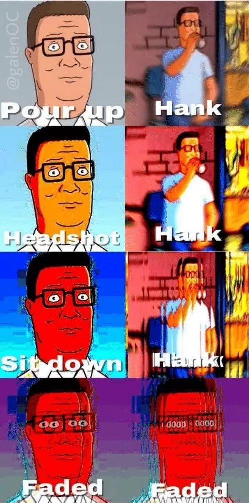 HANK - meme