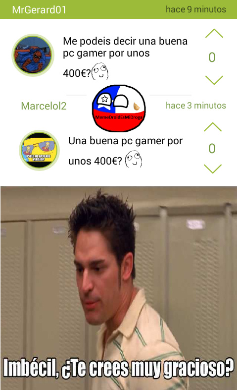 [INSERTE TITULO CREATIVO] - meme