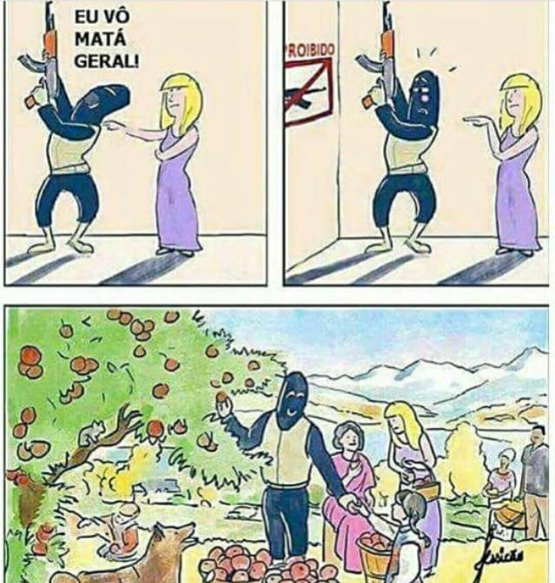 Desarmamento - meme