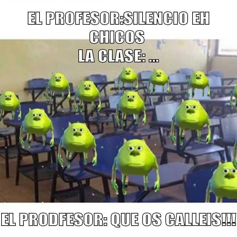 Mi pinche profesor - meme