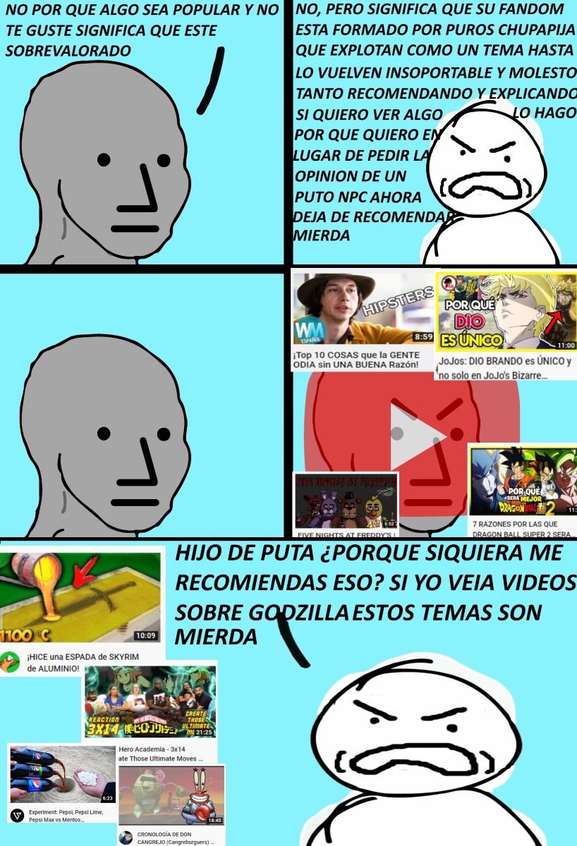 YoutubeNPC - meme