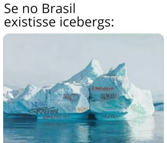 Brasileiro e foda - meme