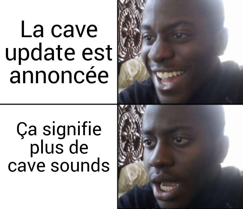 Un meme minecraft pas original