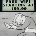 Free wifi? I will take it