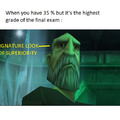 A Good Grade ...