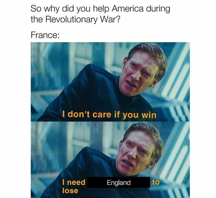 Won the war - meme