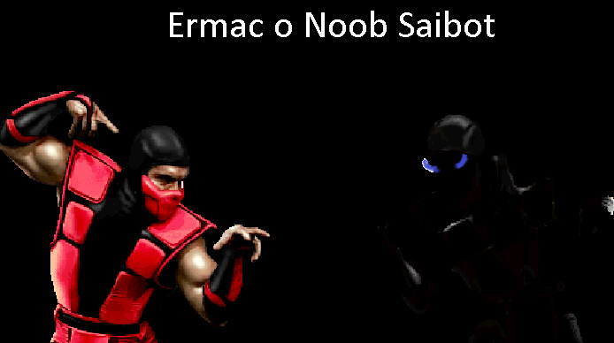 Ermac o Noob Saibot - meme