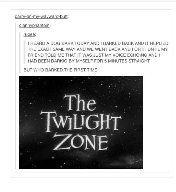 Twilight zone - meme